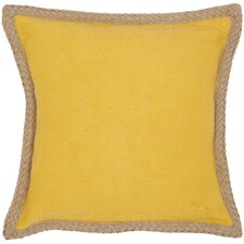 Sweet Sorona Jute Fiber Decorative Throw Pillow (Set of 2)