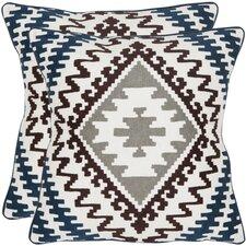 Navajo Cotton Decorative Pillow (Set of 2)