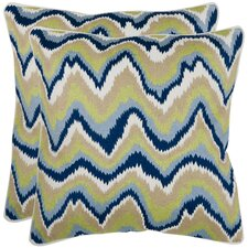 <strong>Safavieh</strong> Bali Cotton Decorative Pillow (Set of 2)