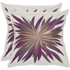 Autumn Burst Cotton Decorative Pillow (Set of 2)