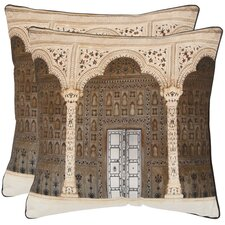 <strong>Safavieh</strong> Novara Cotton Decorative Pillow (Set of 2)