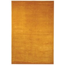 Tibetan Velvet Straw Orange Area Rug