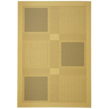 Courtyard Natural / Brown Outdoor Area Rug