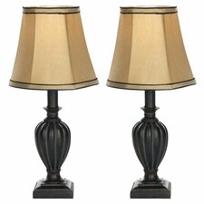 Round Bell Mini Table Lamp (Set of 2)