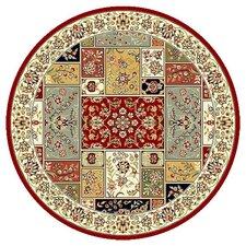 Lyndhurst Red/Ivory Area Rug