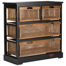 Jackson 4 Drawer Storage Cabinet II