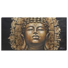 Dramatic Buddha Graphic Art