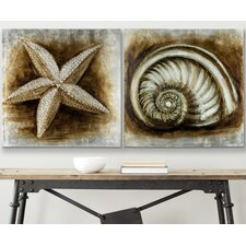 Shell Painting (Set of 2)