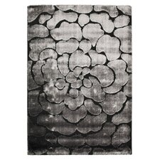 <strong>Safavieh</strong> Miami Shag Black/Grey Rug