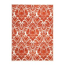 Porcello Red / Ivory Rug