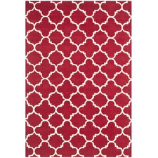 Chatham Red & Ivory Area Rug