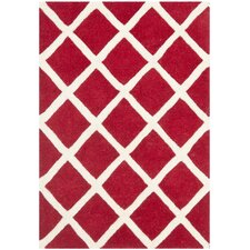 <strong>Safavieh</strong> Chatham Red / Ivory Rug