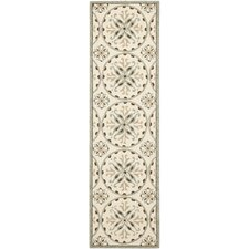 Four Seasons Ivory/Brown Outdoor Area Rug