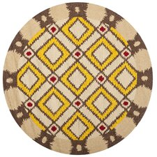 Four Seasons Beige / Yellow Outdoor Rug