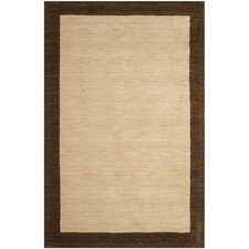 Himalayan Beige/Dark Brown Rug