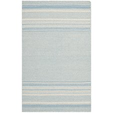 Kilim Light Blue / Ivory Traditional Rug