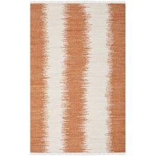 Montauk Orange Abstract Rug