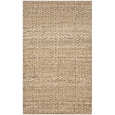 Natural Fiber Brown Area Rug
