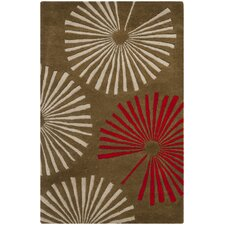 <strong>Safavieh</strong> Soho Brown / Ivory Rug