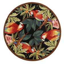 Chelsea Tropical Parrot Novelty Area Rug