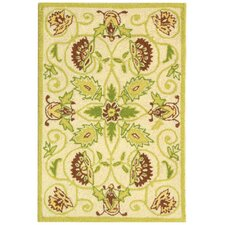 Chelsea Ivory / Green Area Rug