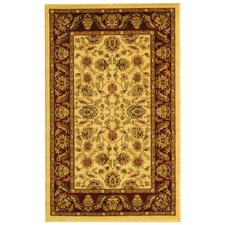 Lyndhurst Cream/Red Rug
