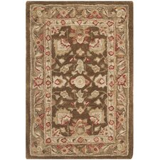 <strong>Safavieh</strong> Anatolia Brown/Green Rug
