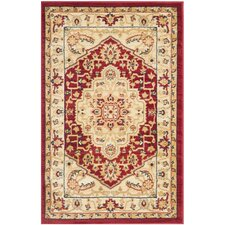 <strong>Safavieh</strong> Austin Red/Cream Rug