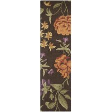 Blossom Brown/Multi Floral Rug