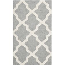 Cambridge Silver & Ivory Area Rug