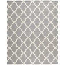 Cambridge Silver/Ivory Area Rug I