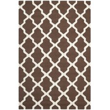 <strong>Safavieh</strong> Cambridge Dark Brown/Ivory Rug