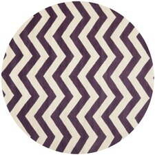 Chatham Purple / Ivory Area Rug
