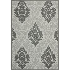 <strong>Safavieh</strong> Courtyard Light Grey/Anthracite Rug
