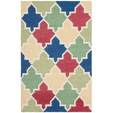 Dhurries Blue/Multi Rug