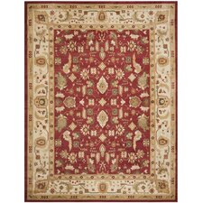 <strong>Safavieh</strong> Heirloom Red/Creme Rug