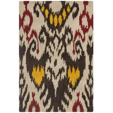 <strong>Safavieh</strong> Ikat Beige/Brown Rug