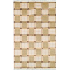 Lexington Ivory/Green Rug