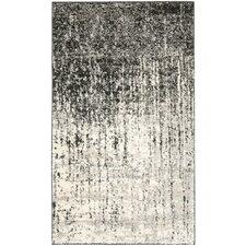 Retro Black/Light Grey Rug