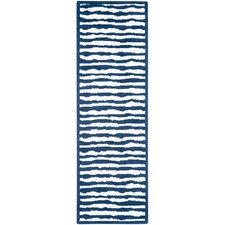 Kids Ivory/Blue Area Rug