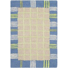 <strong>Safavieh</strong> Kids Taupe/Blue Rug