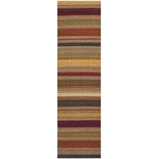 Striped Kilim Gold Rug