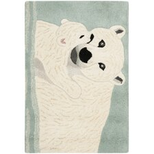 <strong>Safavieh</strong> Wilderness Blue/Ivory Novelty Rug