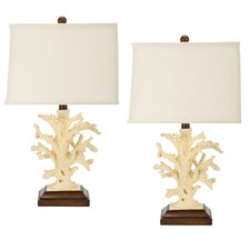Coral Table Lamp (Set of 2)