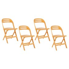 <strong>Safavieh</strong> Billy Folding Chair (Set of 4)