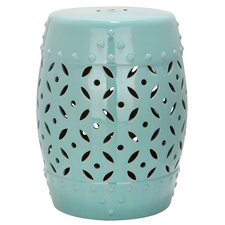 Lattice Coin Garden Stool