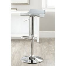 "<strong>Safavieh</strong> Avish 25.6"" Adjustable Swivel Bar Stool"