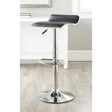 "Chaunda 22.4"" Adjustable Swivel Bar Stool"
