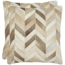 Marley Feather / Down Decorative Pillow (Set of 2)