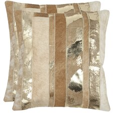 <strong>Safavieh</strong> Peyton Feather / Down Decorative Pillow (Set of 2)
